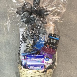 Gee You're Old Gift Basket | Spring Creek Design LLC | Gillette Wyoming