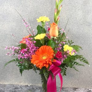 roses and gladiolas | spring creek designs | Gillette Wyoming